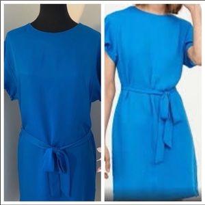 🌸2/$35🌸H&M Royal blue belted dress